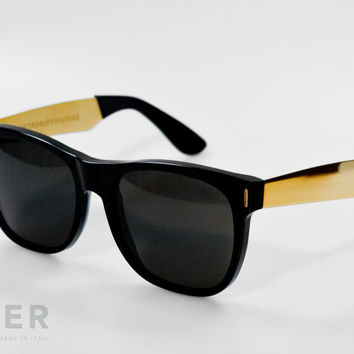 retroSUPERfuture Classic Francis Black Sunglasses