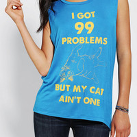 Urban Outfitters - Lords Of Liverpool Cat Probs Muscle Tee