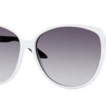 Gucci Sunglasses - 3162 / Frame: White Black Lens: Gray Shaded