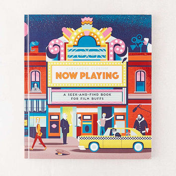Now Playing: A Seek-and-Find Book for Film Buffs By Alexandre Clérisse | Urban Outfitters