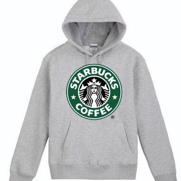 starbucks coffee sweatshirt hoody pullover jumper unisex.