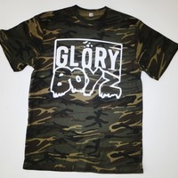 Glory Boyz Camo White GBE T-Shirt Chief Keef Sosa 300 Glory Boys Bang Bang