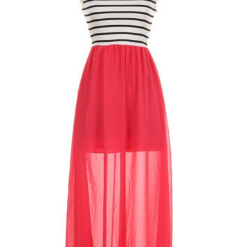 Day On The Beach In Coral - CLOSEOUT