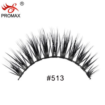 12 Pairs Handmade Thick Long Lashes Professional Makeup
