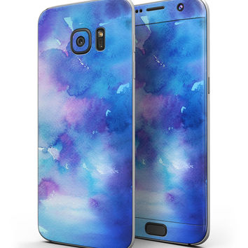 Washed 42290 Absorbed Watercolor Texture - Full Body Skin-Kit for the Samsung Galaxy S7 or S7 Edge
