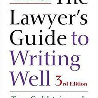 The Lawyer's Guide to Writing Well 3