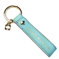 Kate Spade Saffiano Leather Newbury Lane Live Colorfully Key-chain FOB Keychain (Baby Blue)
