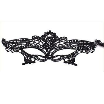 Princess Mask Women/Girls Sexy Lace Eye Mask For Halloween/ Masquerade Party-365