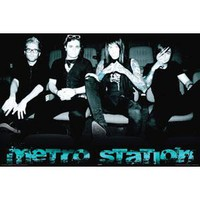 Metro Station Domestic Poster