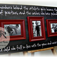 Coach Gift, Coaches Thank You Gift, Team Sports, Football, Baseball, Soccer, Cheer, Tennis, Basketball, Softball, Swim, Track, 16x30