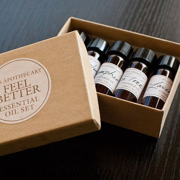 Feel Better Essential Oil Set