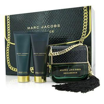 Marc Jacobs Decadence Coffret: Eau De Parfum Spray 100ml/3.4oz + Body Lotion 75ml/2.5oz + Shower Gel 75ml/2.5oz Ladies Fragrance