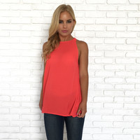 Part The Sea Blouse In Red
