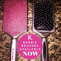 Hair Barb Pink Diamond Brush