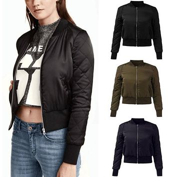 ZANZEA Fashion Bomber Jackets