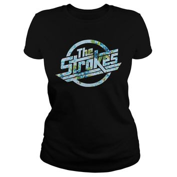 The strokes floral shirt Classic Ladies Tee