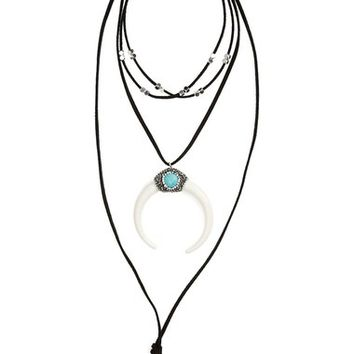 Panacea Multi Cord Statement Necklace | Nordstrom