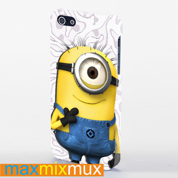 Despicable Me Minion 22 iPhone 4/4S, 5/5S, 5C Series Full Wrap Case
