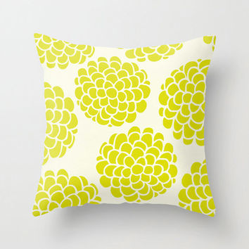 Minimal Blossom Grapes Throw Pillow for your home decor