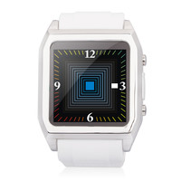 TOP WATCH TW530D 1.54 Capacitive Touch Screen MTK6260 GSM Waterproof Smart Watch Phone - White""