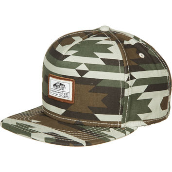 Vans Dunsmore Snapback Hat Native Camo, One