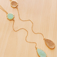 Sarah Lyn Necklace - Mint