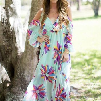 Judith March Not So Wallflower Maxi Dress FINAL SALE!
