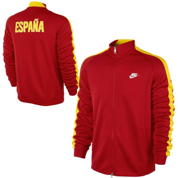 Nike Spain N98 Full Zip Track Jacket - Red - http://www.shareasale.com/m-pr.cfm?merchantID=7124&userID=1042934&productID=540351281 / Spain