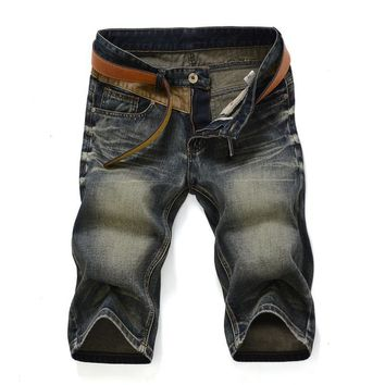 Denim Vintage Strong Character Slim Pants [1589006368861]