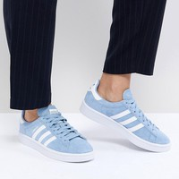 adidas Originals Campus Trainers In Blue at asos.com