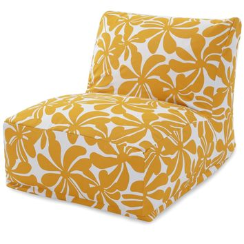 Yellow Plantation Bean Bag Chair Lounger