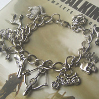 Walking Dead Jewelry DARYL BRACELET with CHUPACABRA  by Oddsurd