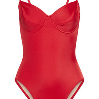 Norma Kamali - Mio underwired swimsuit