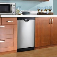 Danby, 18 in. Front Control Dishwasher in Stainless Steel with Stainless Steel Tub, DDW1899BLS-1 at The Home Depot - Mobile