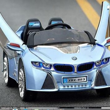 Newest LED Edition BMW I8 Style 12v, MP3, Kids Ride On Car With Remote Control