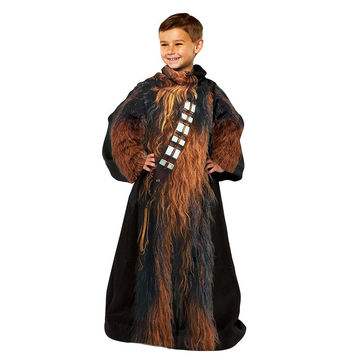 Star Wars Being Chewbacca  Youth Comfy Throw Blanket w-Sleeves