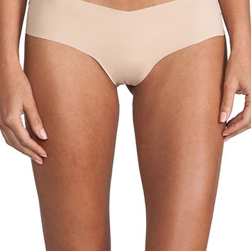 Commando Girl Short in Beige