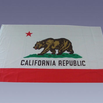90x150cm California Flag Free shipping 3 * 5 feet of the flag American flag. California flag. California banner