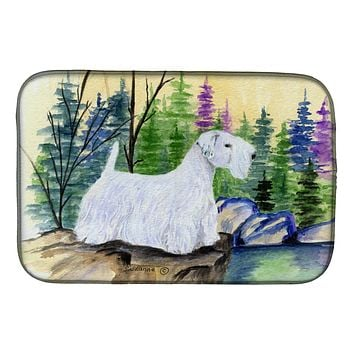 Sealyham Terrier Dish Drying Mat SS8104DDM