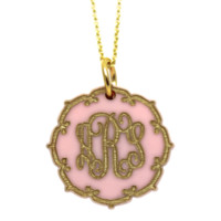 Duchess Monogram Necklace {20+ Color Options}