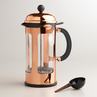 Bodum Chambord Copper 8-Cup French Press Coffee Maker - World Market