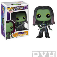 Funko Pop! Marvel: Guardians Of The Galaxy - Gamora - Vinyl Bobble Head - VAULTED (RETIRED)