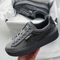 PUMA by Rihanna Velvet Creeper 'Cement'