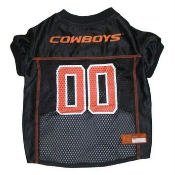 PEAPYW9 Oklahoma State Cowboys Pet Jersey