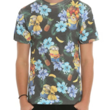 Despicable Me 2 Minions Tropical T-Shirt