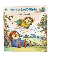 Vintage 1989 Just a Daydream By Mercer Mayer A Little Critter Book, A Golden Look Look Book, Vintage Book for Children