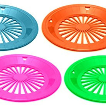 12pc Alazco Reusable Plastic Paper Plate Holders for 9\  Plates (  sc 1 st  wanelo.co : paper plates holder - pezcame.com