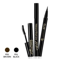 Kill Brown Waterproof Brush Liner and Mascara Set