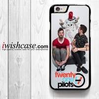 Twenty One Pilots Logo for iPhone 4 4S 5 5S 5C 6 6 Plus , iPod Touch 4 5  , Samsung Galaxy S3 S4 S5 S6 S6 Edge Note 3 Note 4 , and HTC One X M7 M8 Case