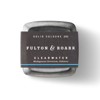 Fulton and Roark - Clearwater Solid Cologne